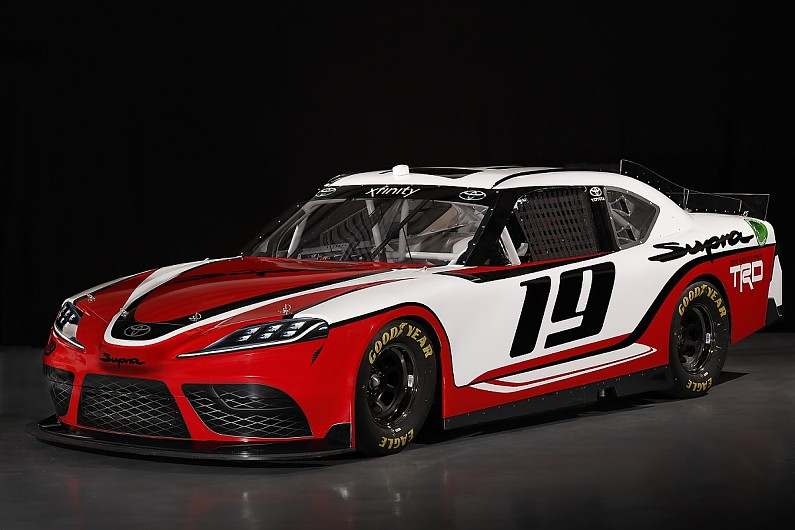 toyota sticking with camry for nascar cup series supra. Black Bedroom Furniture Sets. Home Design Ideas