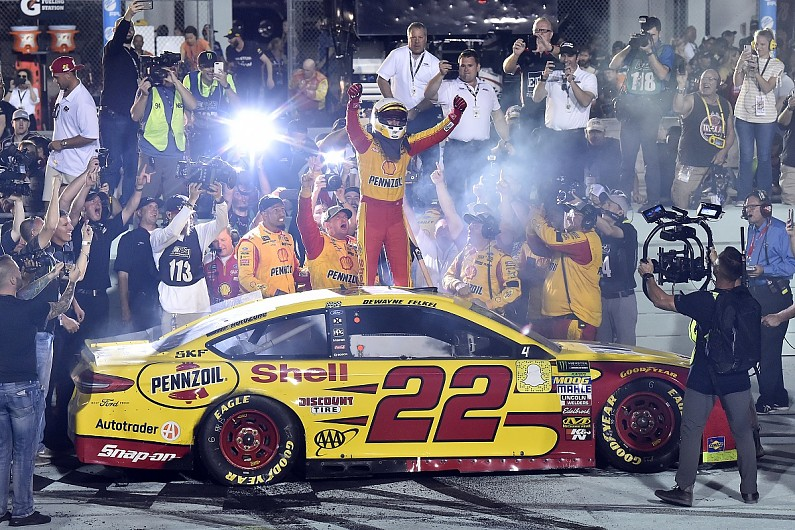 Joey Logano Wins  Nascar Cup Title In Dramatic Homestead Finale Nascar Autosport