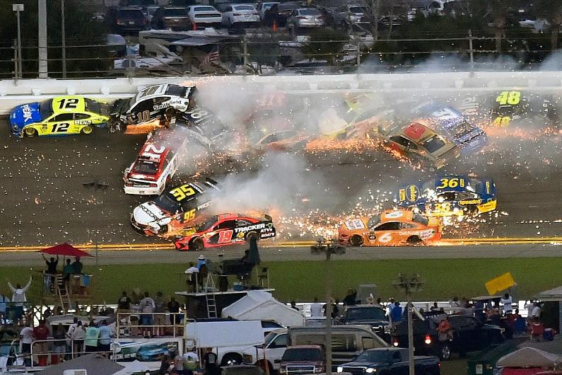 The Daytona 500 'Big One' crash that halted a NASCAR fairytale - autosport.com