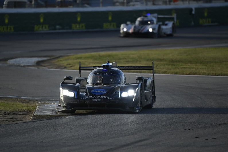 Daytona 24 Hours: WTR Cadillac brushes off penalty to take victory