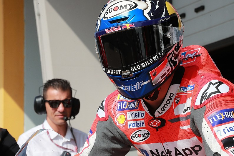 27507f7070 Misano MotoGP  Dovizioso and Lorenzo one-two for Ducati on Friday - MotoGP  - Autosport