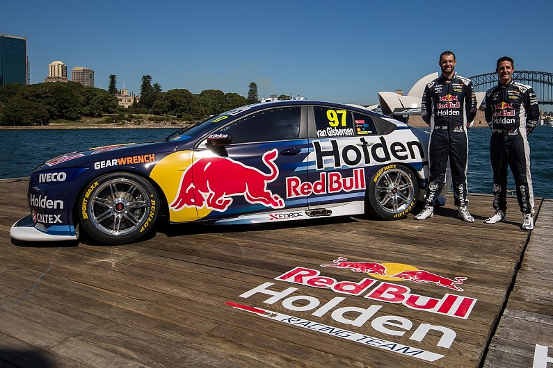 9ea89f81ace7 Triple Eight Red Bull reveal Holden hatchback for 2018 Supercars - Supercars  - Autosport