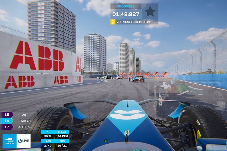 FE launches new 'ghost racing' app allowing gamers to race