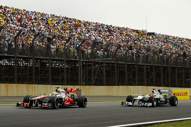 """Vettel: """"Mixed emotions"""" about Hamilton taking Schumacher's win record - Motor Informed"""