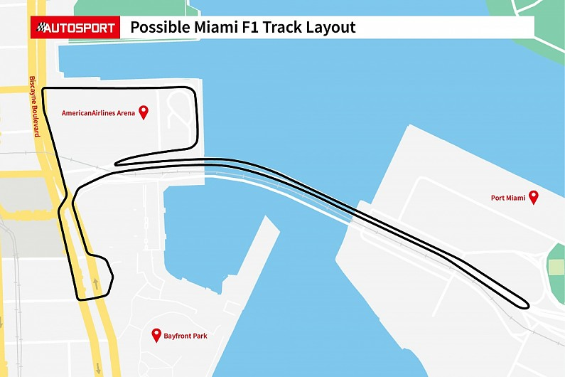 First Images Of Proposed Miami Formula 1 Circuit Layout Revealed F1 Autosport