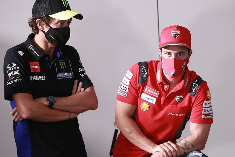 Rossi would welcome Dovizioso as Yamaha test rider for ...