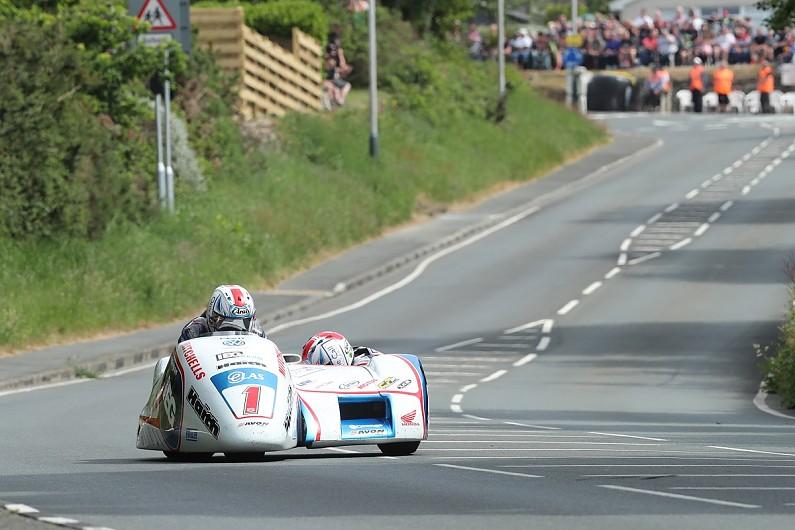Isle of Man TT: Birchalls smash records to claim Sidecars double