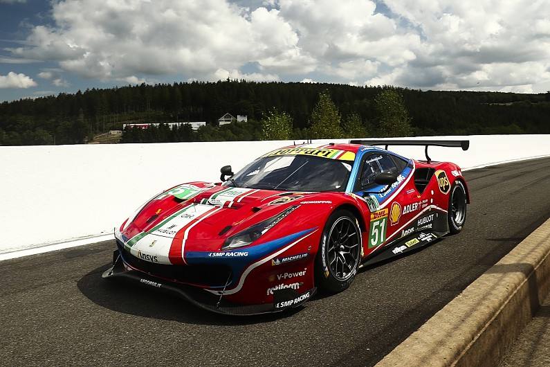 Ferrari To Evaluate Le Mans Hypercar Entry In World Endurance Championship Wec Autosport