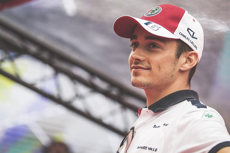80bc04184d55b Leclerc s F1 2019 switch to Ferrari in place of Raikkonen back on - F1 -  Autosport