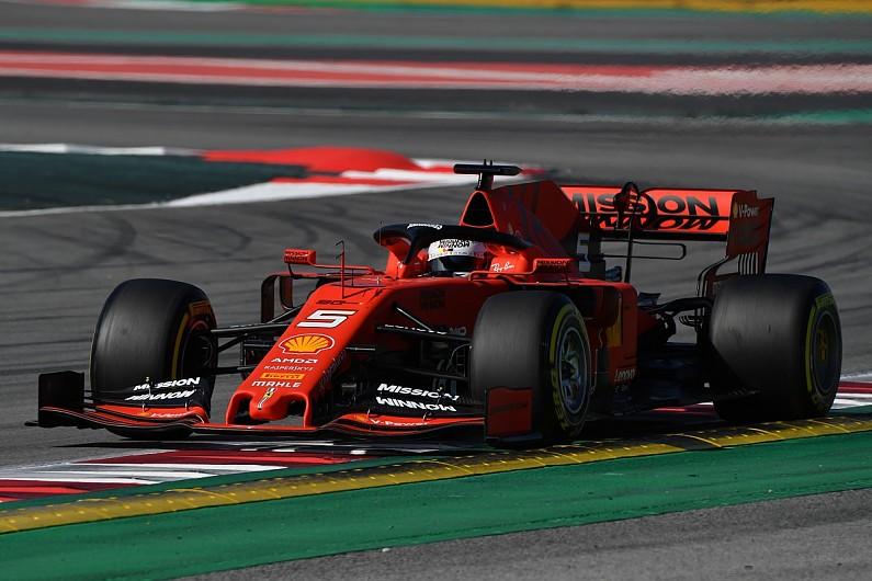 F1 testing: Ferrari and Sebastian Vettel dominate first morning