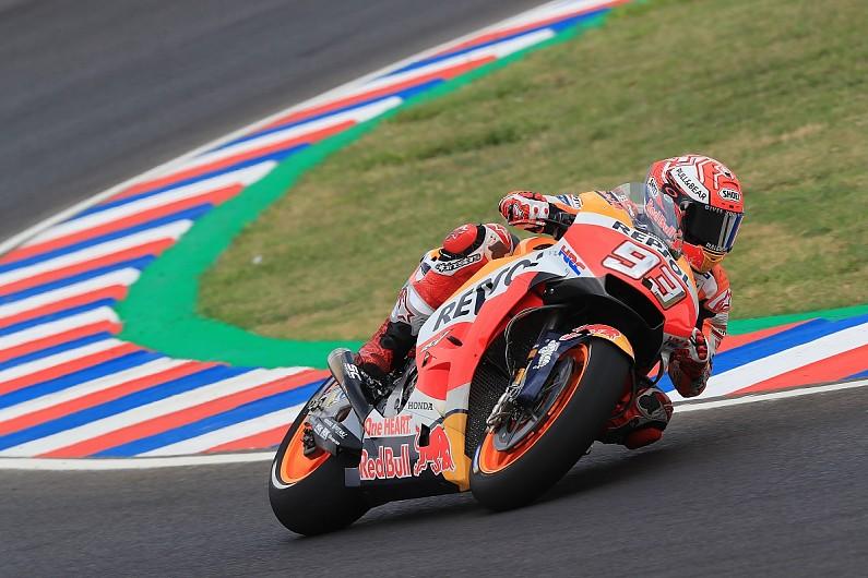 Motogp Argentina Marquez Fastest In Fp Dovizioso Slowest Motogp Autosport