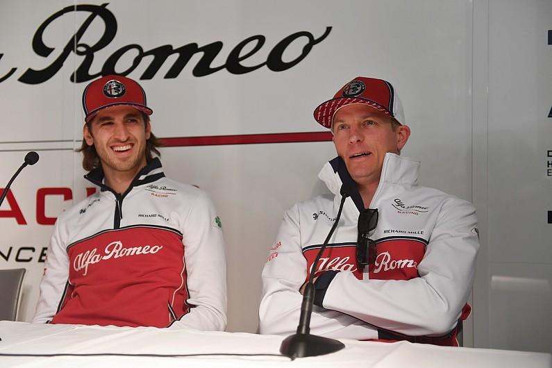 Raikkonen's experience reminds Giovinazzi of his final F3 season