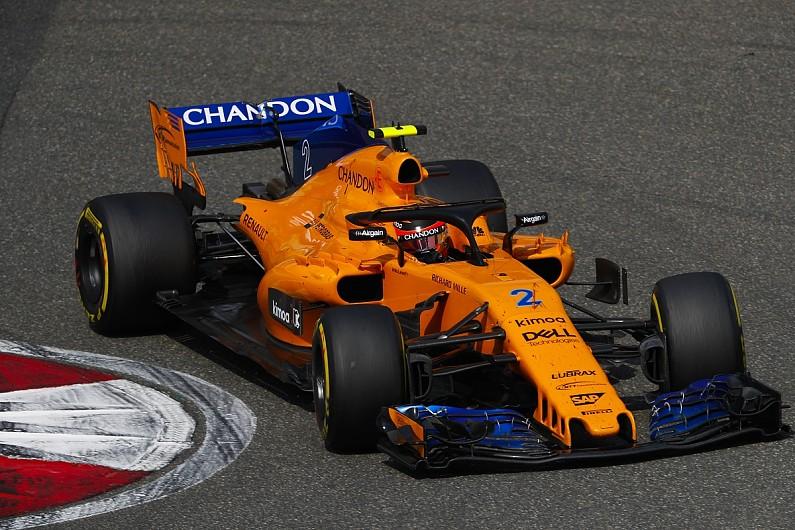 mclaren's real 2018 formula 1 car won't appear until spanish gp - f1