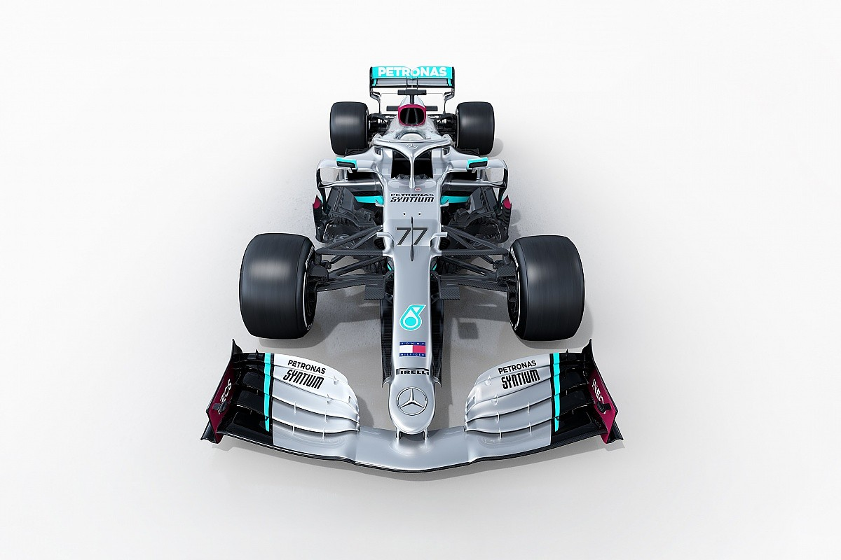 First Images Of 2020 Mercedes F1 Car Revealed F1 Autosport