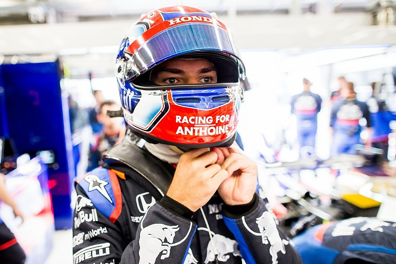 """Pierre Gasly's anguish at loss of """"best mate"""" Anthoine Hubert"""