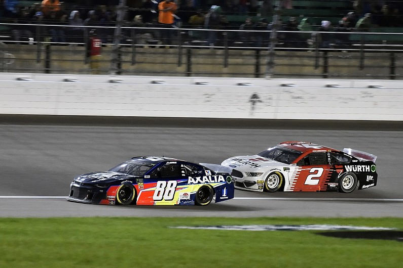 Hendrick now has best cars in NASCAR Cup - Penske driver Keselowski
