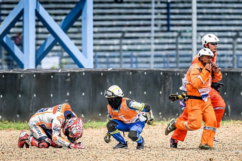 Crtuchlow: Honda's embarrassing MotoGP out-laps behind Marquez fall
