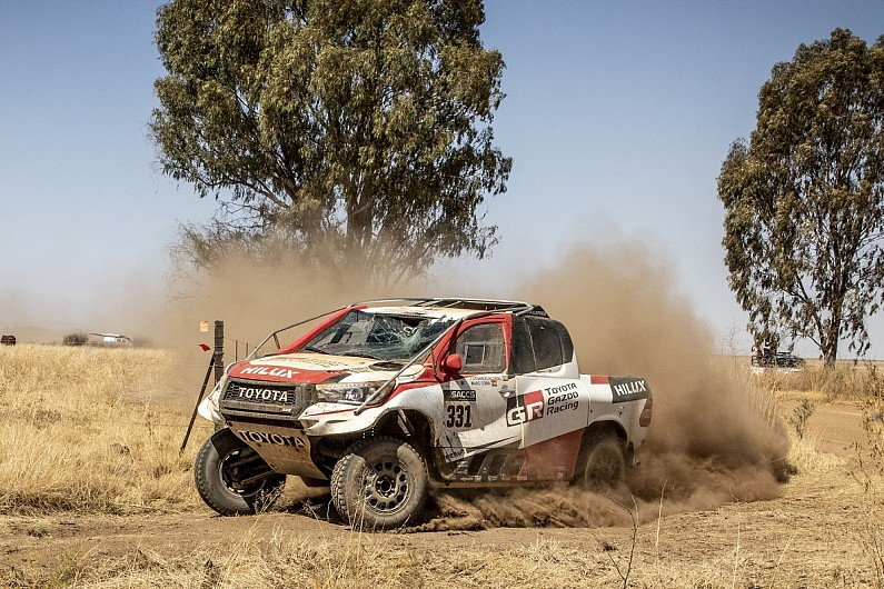 "Alonso rolled, hit bird on ""nightmare"" first rally raid with Toyota"