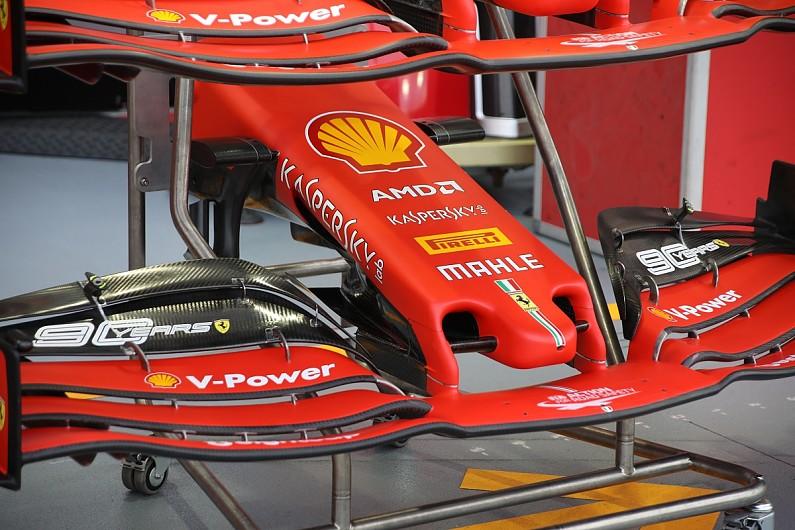 Ferrari Unveils New Formula 1 Nose Design For Singapore Gp F1 Autosport