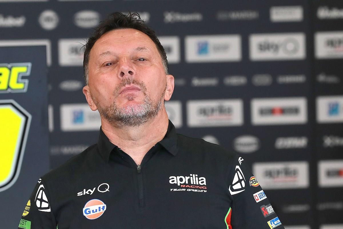 Fully conscious Fausto Gresini