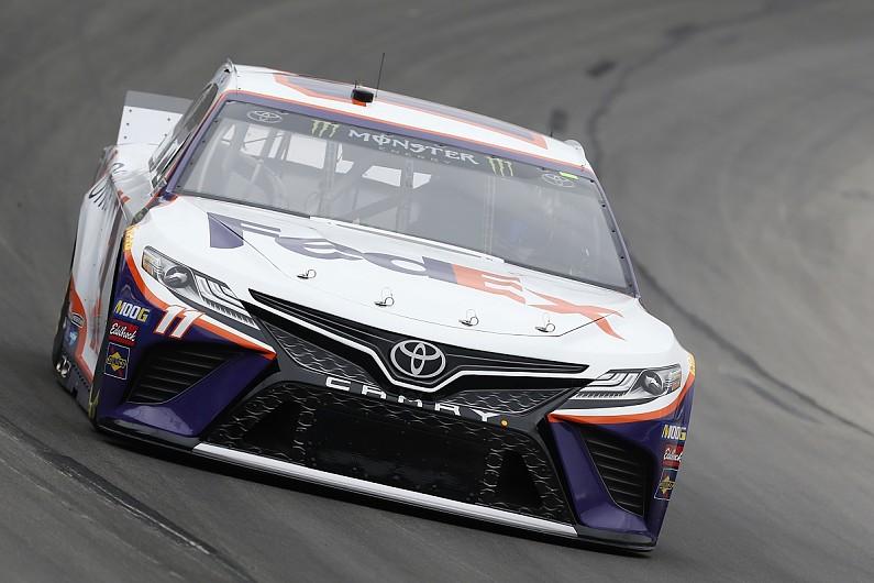 Toyota NASCAR driver Hamlin wins in Texas despite pit penalties