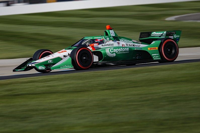IndyCar Indianapolis: Power holds off Herta for Harvest GP race 2 victory - Motor Informed