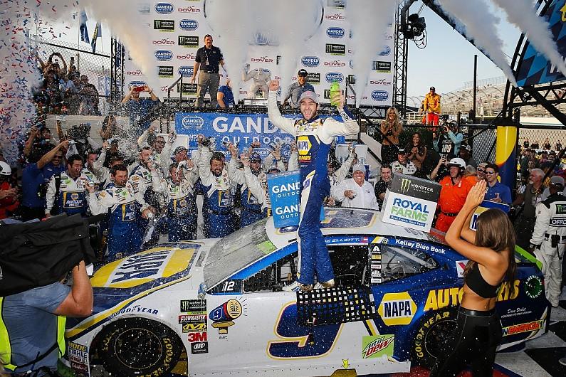 NASCAR Dover: Elliott wins in overtime to secure Playoff spot - NASCAR - Autospo...