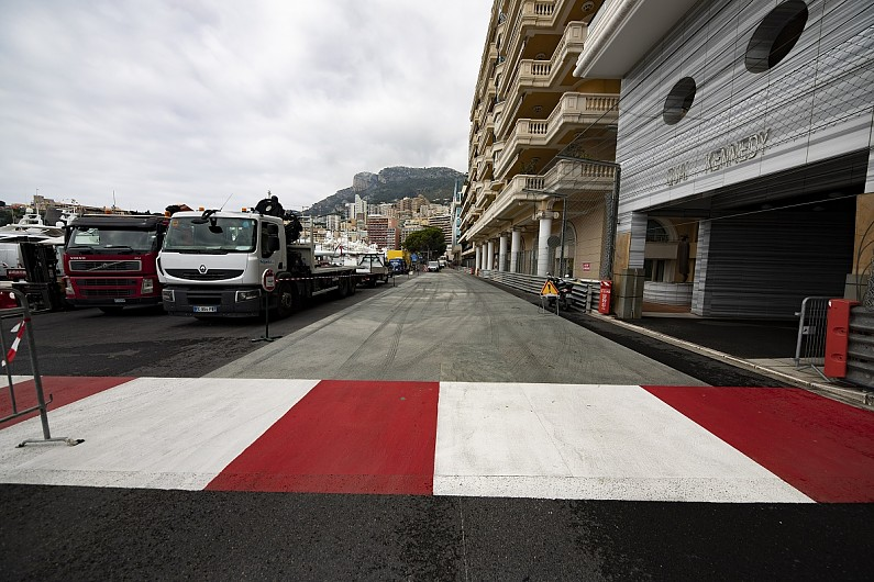 New Monaco chicane surface to help slow F1 cars that go off track