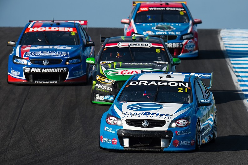 V8 Dropped From Australian Supercars Series Name Supercars