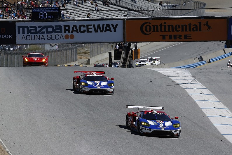 Ford's new GT car claims first win in Laguna IMSA SportsCar race