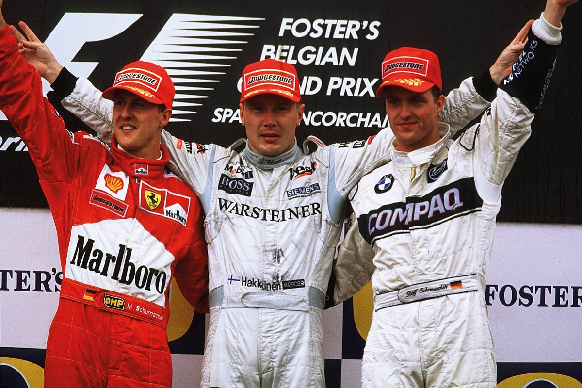 How the driver who shocked Senna became an F1 legend - F1 - Autosport Plus