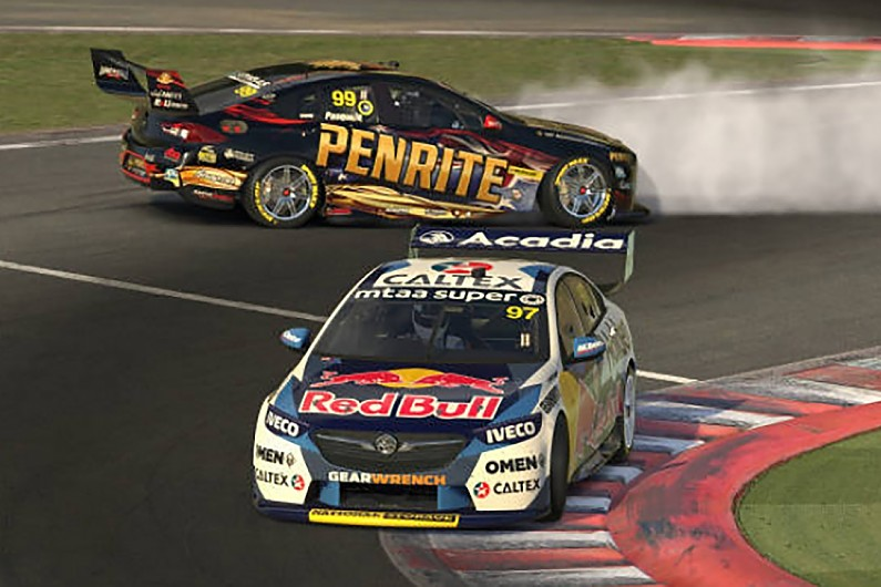 Supercars News F1 Driver Norris Targets Real Life Supercars Test After Virtual Debut Supercars Autosport