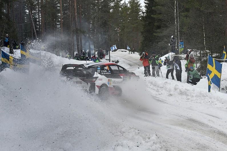 WRC Rally Sweden: Tanak on brink, Mikkelsen plunges, Lappi moves up