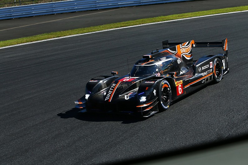 Ginetta beats pegged-back Toyota to top Shanghai WEC practice