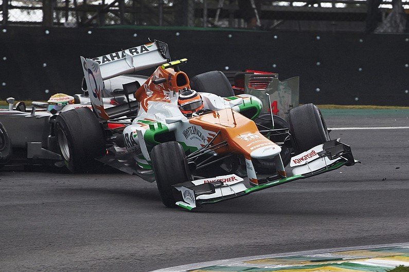 Hulkenberg's heart was bleeding after watching 2012 Brazil F1 race