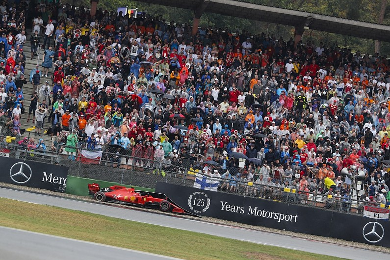 Leclerc calls German GP runoff surface