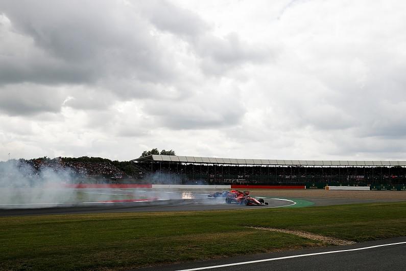 Vettel hoped to 'sneak back' past Verstappen before Silverstone crash