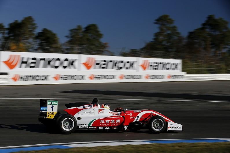 European F3 Hockenheim: Zhou on pole as Schumacher/Ticktum struggle - F3 - Autos...