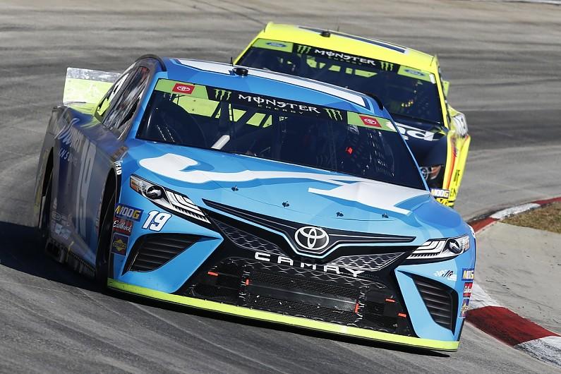 Truex Jr takes dominant Martinsville NASCAR Cup win for JGR