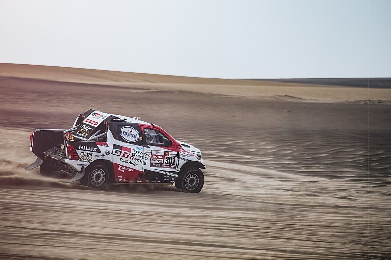 Nasser Al-Attiyah closes on first Toyota win in 2019 Dakar