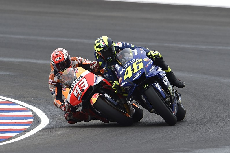 Rossi Marquezs Argentina Motogp Clash Apology Attempt A Pr Joke Motogp Autosport