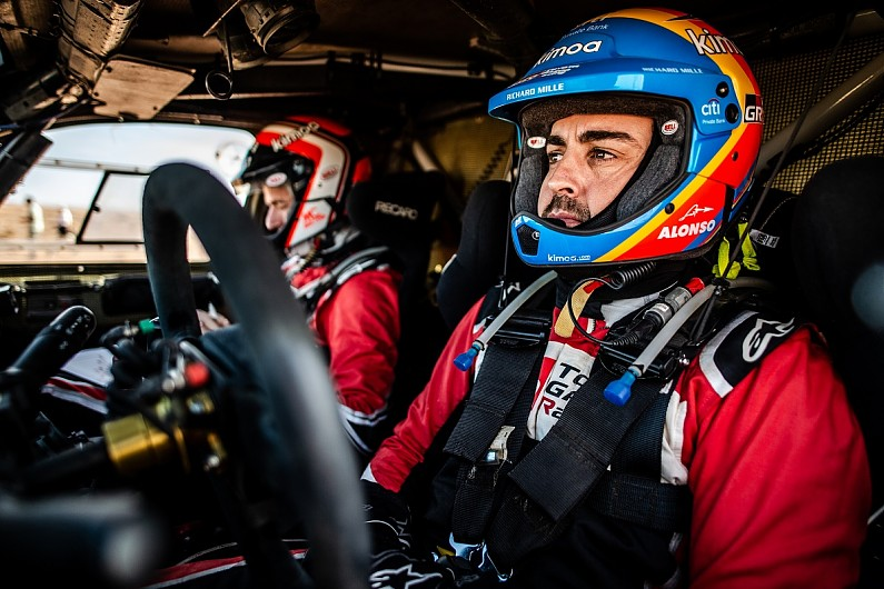 Alonso Will Compete In 2020 Dakar Rally With Toyota Dakar