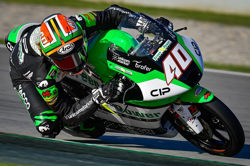 Catalan Moto3: Binder wins as title rivals McPhee and Arenas collide