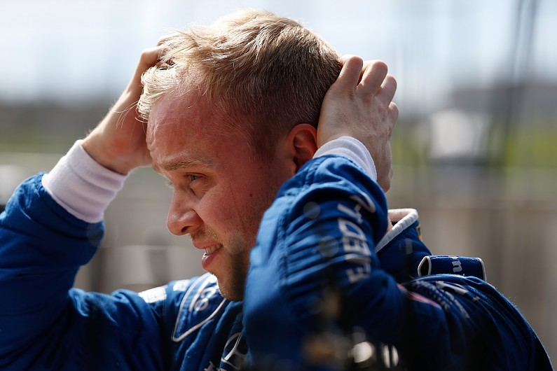 IndyCar rookie Rosenqvist on standby to race Ford GT for Ganassi