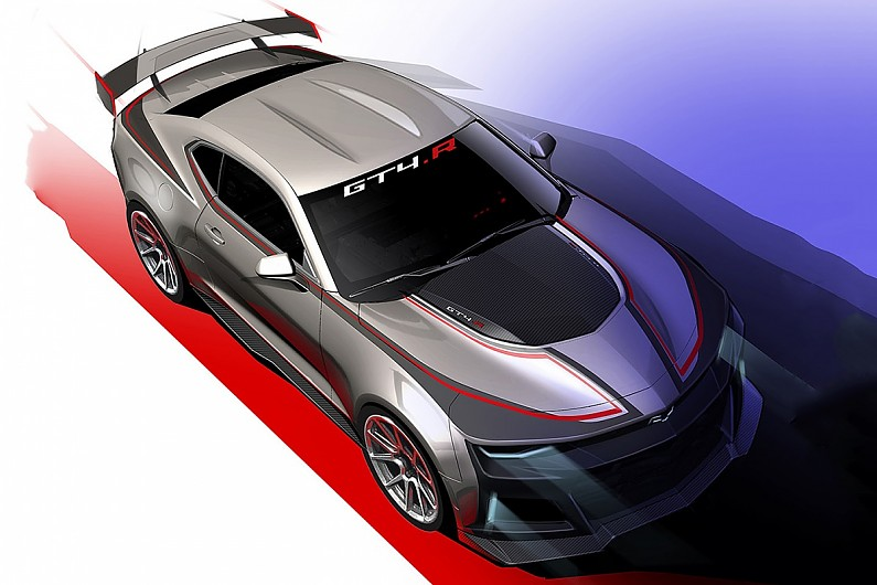 Australian Supercars-spec Camaro plans now in 'second stage