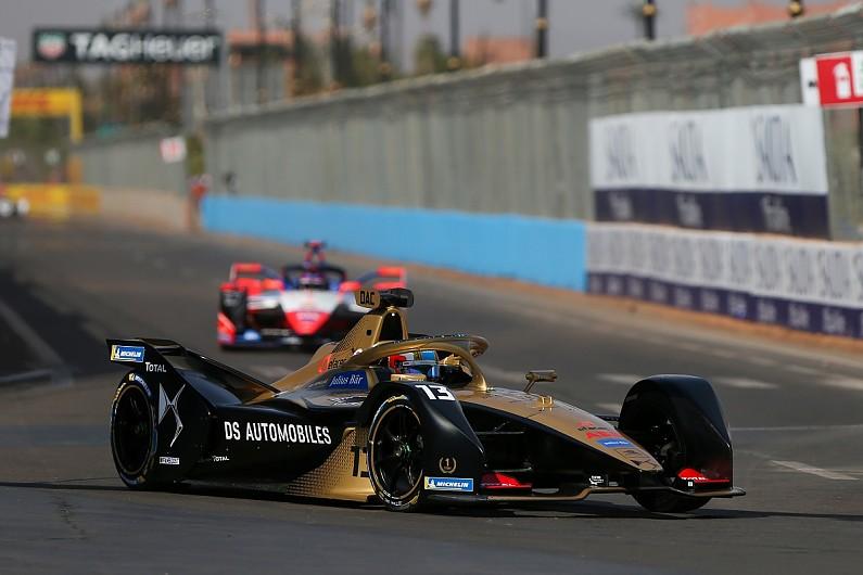 Formula E Marrakech: Da Costa tops practice, Vergne misses session