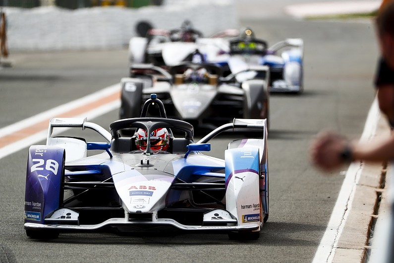 BMW's Guenther tops FE Valencia testing as Buemi wins 'race'