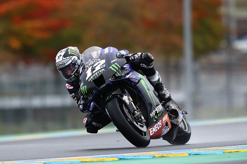 """Mir avoids """"dangerous moment"""" with Vinales in French GP practice - Motor Informed"""