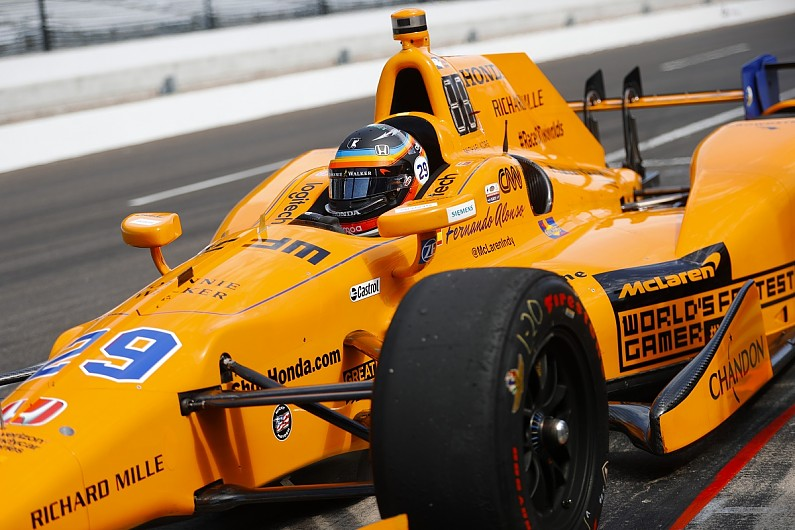 fernando alonso favours indycar-like orange for 2018 mclaren f1 car