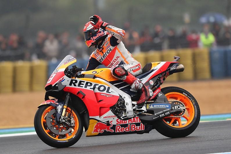 Le Mans MotoGP: Marc Marquez wins for Honda's 300th victory